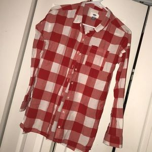 Like new! Girls old navy button up XL